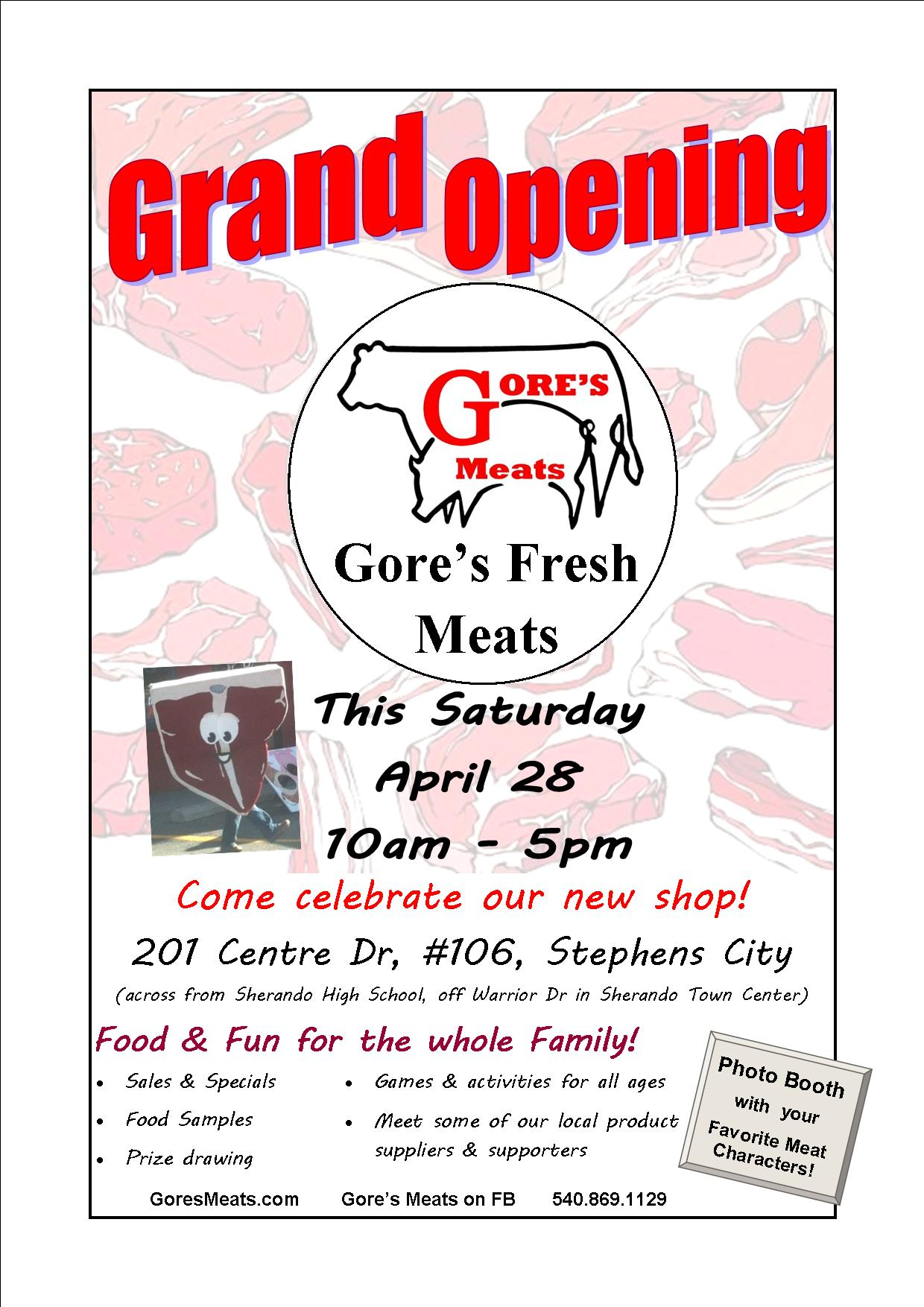 Gore-s-Fresh-Meats-Grand-Opening-Flyer